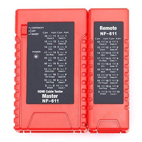 nf-611tragbar HDMI High Definition Kabel Tester Asse, A-C, C-A C-C