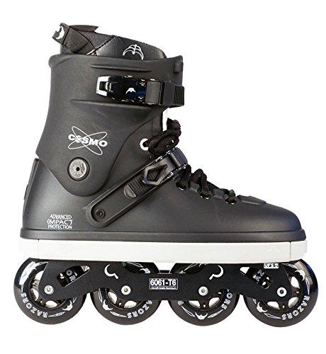 Razors Cosmo Freestyle Skates, black/white, EU 43 / US 10 / UK 9