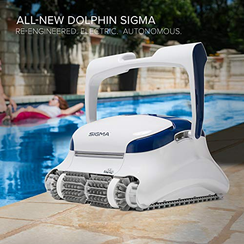 Best Dolphin Pool Cleaner Reviews - DOLPHIN Sigma Robotic Pool Cleaner
