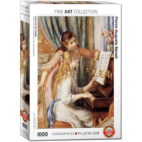 Eurographics 02215 - Renoir: Ragazze al Piano - Puzzle 1000 Pezzi