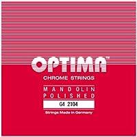 【国内正規品】 OPTIMA オプティマ MANDOLIN G4 2104 マンドリン弦 G線 (.036) 【2本入り】