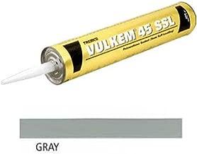 (Pack of 12) Tremco 45SSL Vulkem Polyurethane Semi-Self Leveling Sealant, Gray