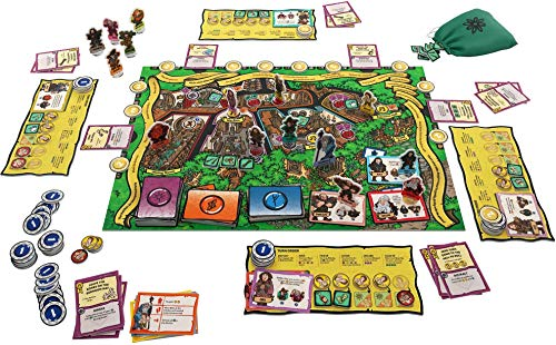 Official The Hobbit An Unexpected Party Board Game