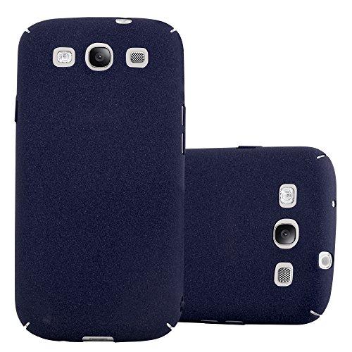 Cadorabo Custodia per Samsung Galaxy S3 / S3 Neo in Frosty Azzurro - Rigida Cover Protettiva Sottile con Bordo Protezione - Back Hard Case Ultra Slim Bumper Antiurto Guscio Plastica
