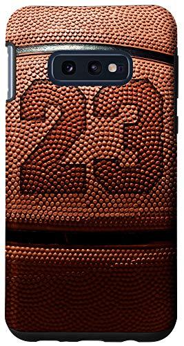 Galaxy S10e Basketball Fan #23 Jersey No 23 Basketball Phone Case Gift Case
