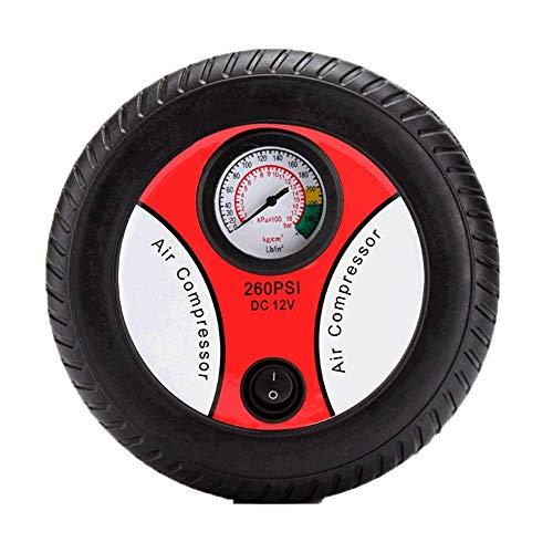 ZYC-WF Neumático Del, Bomba de Aire Del Compresor, 12V Cc para Coches, Bicicletas Y Otros Inflable C