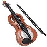 Toy Violin – Premium Kid's Violin for Beginners – Electrical Kids Violin with 7 Songs – Adjustable Rhythm – Small Electrical Musical Instrument for 5-6-Year-Olds – High-Tech Violin with Demo Sounds