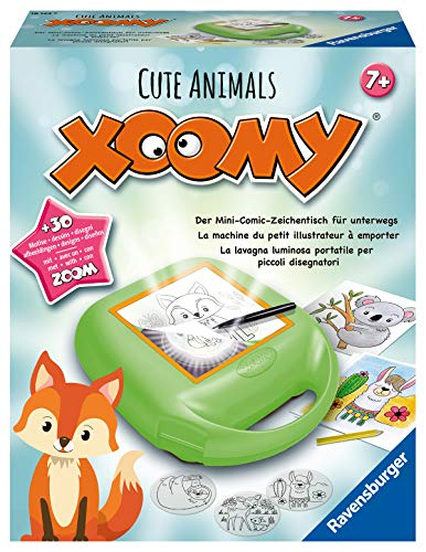 Ravensburger Xoomy 18124 18124-XOOMY Midi Cute Animals, Mehrfarbig