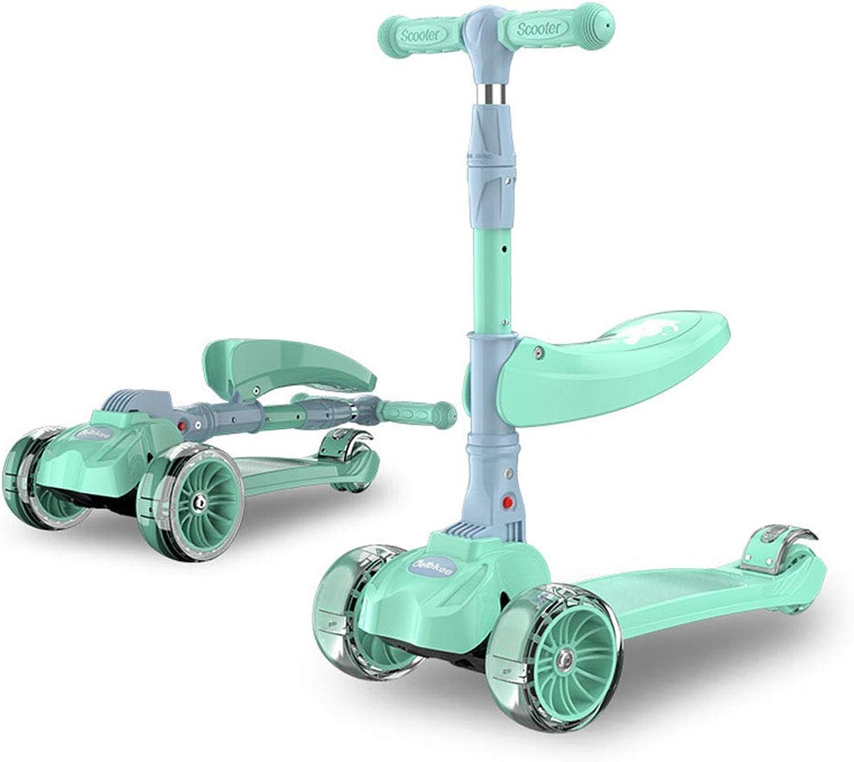 A&L Indoor-und Outdoor-Kinder-Roller 1-2-3-6-12 DREI-in-Einem Mann und Frau knnen EIN Jo-Jo mit Sitz Falten