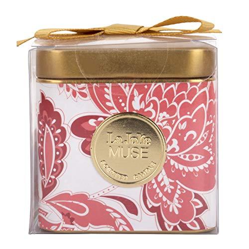 La Jolíe Muse Sweet Passion Duftkerze, Natürliche Wachskerze für zu Hause & Feiertage, 25 Stunden lange Brenndauer, Dose, 3,88 Oz