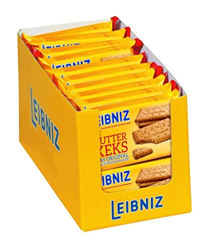 LEIBNIZ Butterkeks - 22er Pack - Das knackfrische Original in praktischen Snack-Packs (22 x 50g)