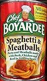 Chef Boyardee Spaghetti and Meatballs (Pack of 4)