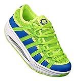 Bootsland 326 Fitnessschuhe Sneaker Slipper Gesundheitsschuhe Damen, Schuhgröße:36