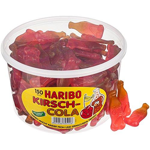HARIBO Kirsch-Cola, Fruchtgummi, 150 Stück