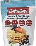 Keto Pancake and Waffle Mix, Gluten Free, Vegan, No Added Sugar, No Preservatives, Made in Canada