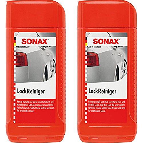 -  2x 500ml Sonax
