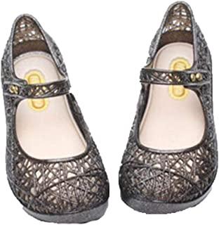 Garden Crystal Mesh Hole Jelly Sandals Shoes For Girls