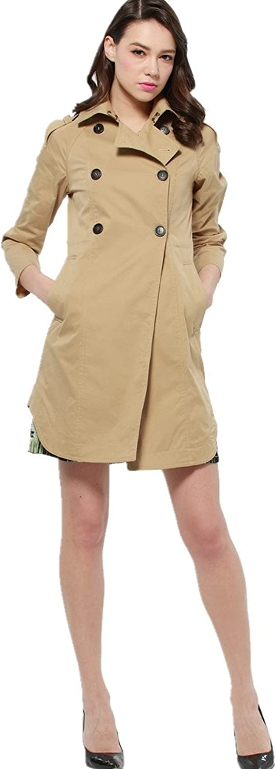 Bobbycool Slim Slim Windbreaker Coat Lady Coat