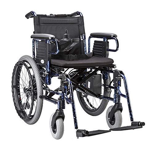 WLD draagbare premium power-rolstoel, met Li-ion-accu 20 Ah, dubbele motor, elektrische rolstoel, ondersteuning 330 lb gfdgdsfgdsfgdsfds