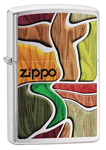 Zippo Accendino in ottone, design individuale, misura originale