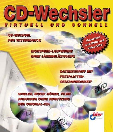 CD-Wechsler, CD-ROM Virtuell und schnell. CD-Wechsel per Tastendruck. Highspeed-Laufwerke ohne Lärmbelästigung. Datenzugriff mit Festplatten-Geschwindigkeit. Spielen, Musik hören, Filme angucken ohne Abnutzung der Original-