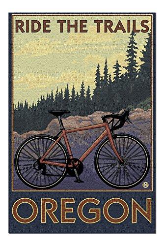 Oregon - Mountain Bike (trail) 20381 (19x27 Premium 1000 Piece Jigsaw Puzzle for Adults)