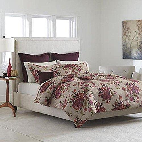 Cannon 7 Piece Comforter Set - Plum, KING