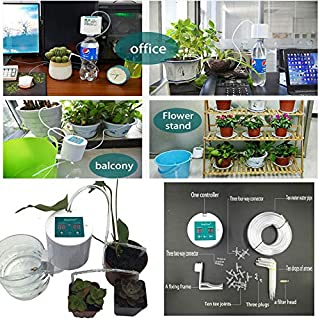 ReeeR Plant Control Intelligent Garden Automatic Watering Controller Indoor Plants Drip Irrigation Device Water Pump Timer System