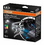 Osram LEDambient TUNING LIGHTS CONNECT, Innenraumbeleuchtung, LEDINT102, Farb- und Moduseinstellung über App-Steuerung, 12V, Nur für Innenraumnutzung zugelassen, Komplett-Set