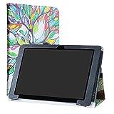 CHUWI Hi10 Plus / VI10 Plus Funda,LiuShan Folio Soporte PU Cuero con Funda Caso para 10.8' CHUWI Hi10 Plus / VI10 Plus Windows 10 Tablet,Love Tree