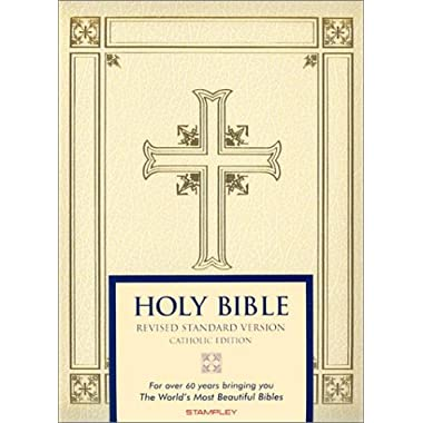 Holy Bible: Revised Standard Version, Catholic Edition, Ivory