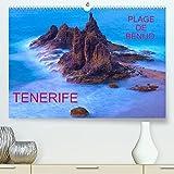 TENERIFE PLAGE DE BENIJO (Premium, hochwertiger DIN A2 Wandkalender 2022, Kunstdruck in Hochglanz): La plage solitaire de Benijo est aussi sauvage ... sable noir. (Calendrier mensuel, 14 Pages )