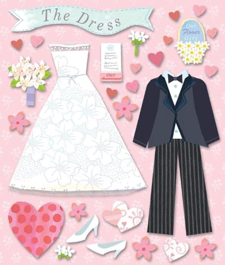 K&Company Wedding Dress Shop Sticker Medley