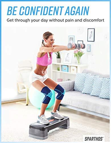 Sparthos Knee Compression Sleeves(Pair)