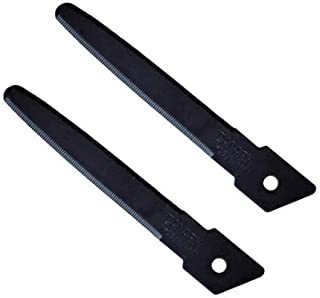 長谷川刃物 カッター 段ボールのこ スライドダンちゃん用替刃 2枚入 フッ素 DC-25-BF2 全長:7.5(cm) ブラック