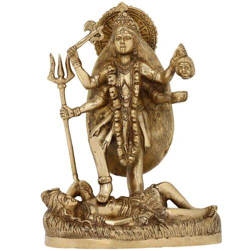 déesse hindoue Kali statue religieuse figurine
