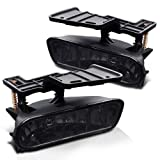 Eautolight Chevrolet Chevy Silverado / Suburban / Tahoe Replacement Assembly 2x Fog Lights 1 Set Pair Left + Right Smoke