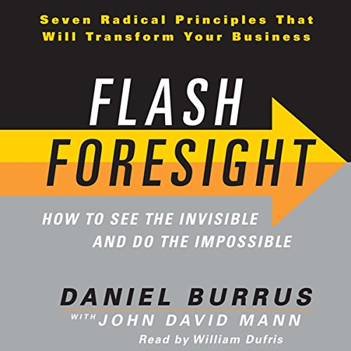 Flash Foresight audiobook cover art