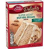 Betty Crocker Super Moist Cake Mix Butter Pecan 15.25 oz Box