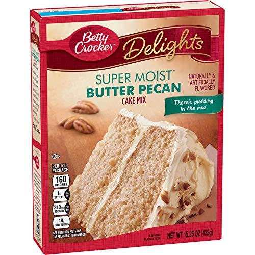 Betty Crocker Super Moist Butter Pecan Cake Mix, 15.25-Ounce
