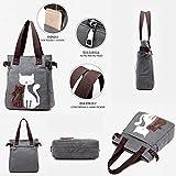 Zoom IMG-2 mingze canvas handbag shopping bag