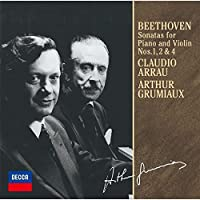 Arthur Grumiaux - Beethoven: Sonatas Nos.1. 2 & 4 [Japan LTD CD] UCCD-9853 by Arthur Grumiaux
