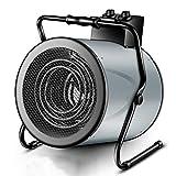 F-HEATER Les appareils de Chauffage 9000W Atelier d'économie d'énergie Petit Chauffage électrique Ventilateur Chauffage Speed Hot Chauffe-Tube,Cyan