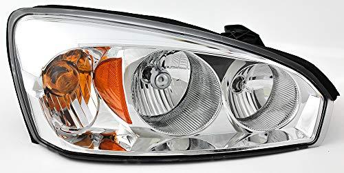 JP Auto Headlight Compatible With Chevrolet Chevy Malibu Malibu Maxx 2004 2005 2006 2007 2008 Passenger Right Side Headlamp