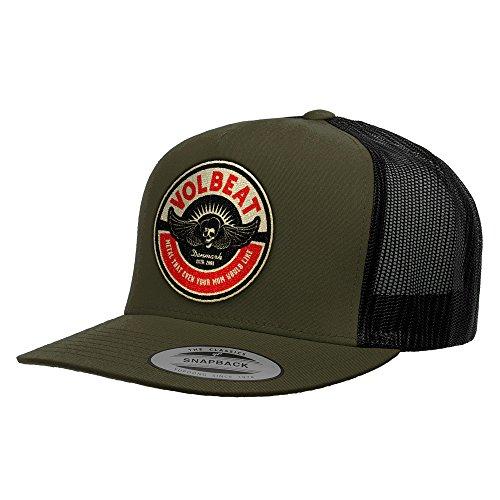 Volbeat - Circle Mom Mesh Cap Mütze Basecap Dark Olive/Black