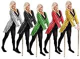 I LOVE FANCY DRESS LTD Chaqueta DE Lentejuela DE Color Negro para Adultos Unisexo Accesorio Disfraces (L)