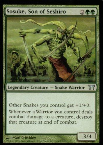 Magic: the Gathering - Sosuke, Son of Seshiro - Champions of Kamigawa