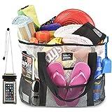 XL Heavy Duty Mesh Tote Bag, Laundry Bag, Picnic Tote, Grocery Bag, Gym Bag