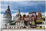 TWYYDP Puzzle De Madera 1000 Piezas,Kremlin,Una Buena Forma De Aliviar El Estrés
