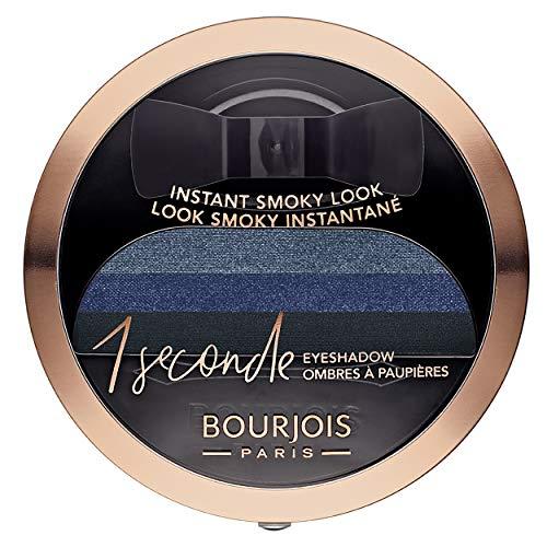 Bourjois Lidschatten, 1 Sekunde Eyeshadow, Smoky leicht und intensive Farbe, 04 insaisissa-blau, 3 g